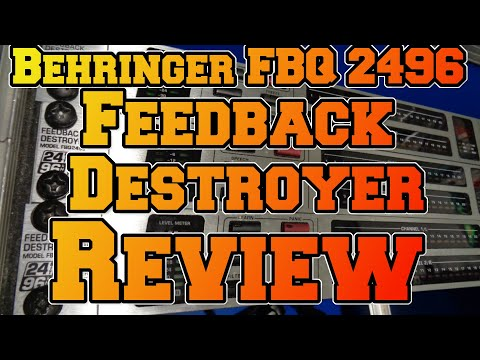 Review in Deutsch : Behringer FBQ 2496 - Feedback Destroyer