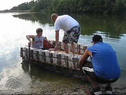 Milk Jug Raft - YouTube