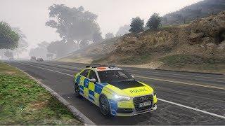 GTA 5 (Radux) Audi S4 Police Chase