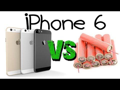 iPhone 6 VS ระเบิด