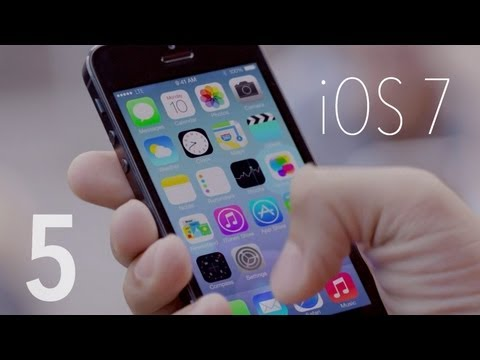 Top 5 iOS 7 Features!