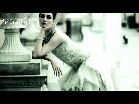 Haute Couture Photo Shoot With Top Model Erin O'connor | Fashiontv - Ftv video