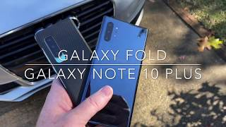 Galaxy Fold vs Galaxy Note 10 who is the top dog?