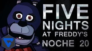 NOCHE 20! EXISTE ALGO PEOR? NO PARAN DE VENIR!! FIVE NIGHTS AT FREDDY