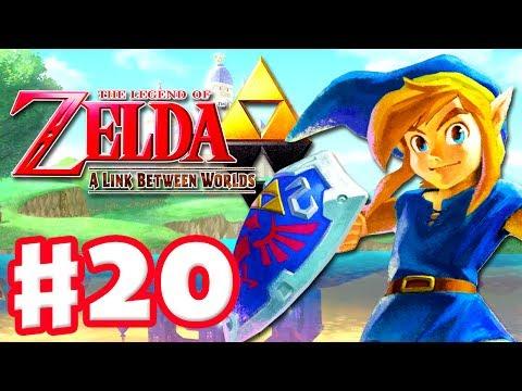 FINAL MASTER SWORD - The Legend of Zelda: A Link Between Worlds Gameplay Walkthrough Part 20 (3DS)