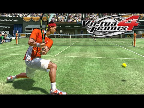 Virtua Tennis 4 Gameplay: Rafael Nadal Vs. Tommy Haas | England Tennis Classic