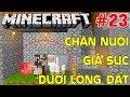 Minecraft Sinh Tồn #23 | XÂY DỰNG CHUỒNG GIA SÚC DƯỚI LÒNG ĐẤT | KiA Phạm (w/ Vamy Trần)