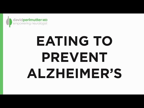Eating to Prevent Alzheimer's