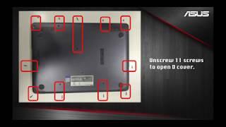 ASUS X507 M.2 slot Installation