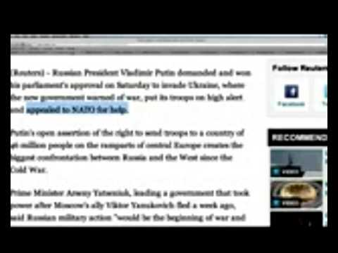 Ukraine WARNS Russia Invasion Means WAR!