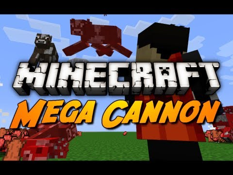 Minecraft: Villager Powered Mob Cannon in 1.3! (500k Subscriber Special) Music Videos