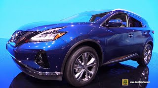 2019 Nissan Murano Platinum AWD - Exterior and Interior Walkaround - Debut at 2018 LA Auto Show