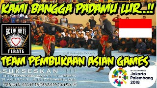 PSHT DI ASIAN GAMES 2018 JAKARTA- PALEMBANG