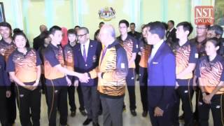 PM Najib wishes Malaysian athletes all the best for Rio Olympics