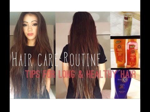 Hair Care Routine: Tips for Growing Long and Healthy Hair - YouTube