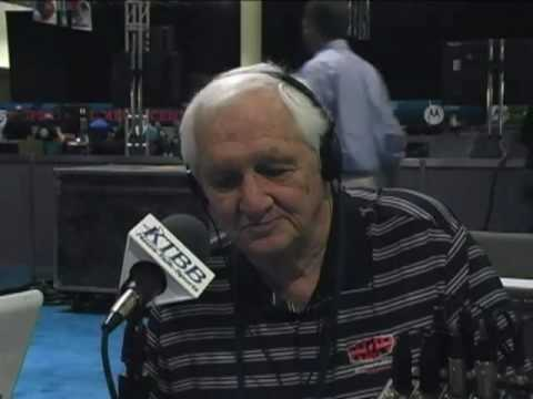 Gil Brandt on Radio Row at Super Bowl XLIV