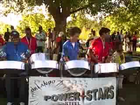 West Indian Jam - Orlando Power Stars Steel Orchestra