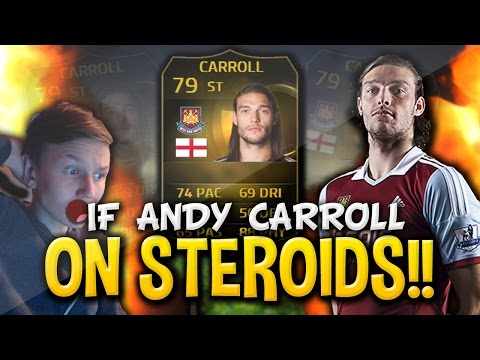 FIFA 15 l OMFG!! IF ANDY CARROLL ON STEROIDS!!