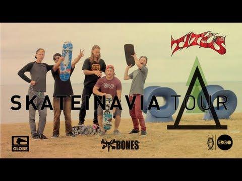 Skateinavia Tour | Sweden & Denmark | Bones, Ergo, Globe, Titus