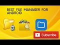 Download [Hindi] - Best File Manager For Android in Mp3, Mp4 and 3GP
