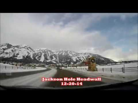 Jackson Hole Headwall Powder Turns GoPro Edit 12-20-14