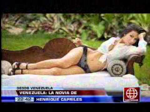 América Noticias:  Venezuela: la novia de Henrique Capriles