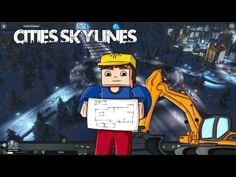 Cities Skylines Snowfall - Ep 8 - L'aéorport international