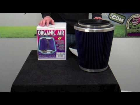 Organic Air Filters – Product Review – MONSTER GARDENS