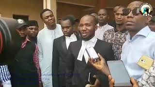 LIVE: Omoyele Sowore in FCT Abuja High Court #Nogoingback #AACParty #Takeitback