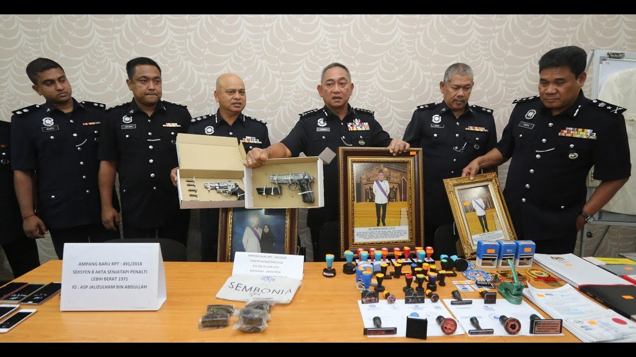 "Police arrest fake ""Datuks"" and ""Datins"" involved in scam syndicate"