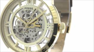 Relógio Fossil Townsman Transparent Dial Automatic ME3043/0DN