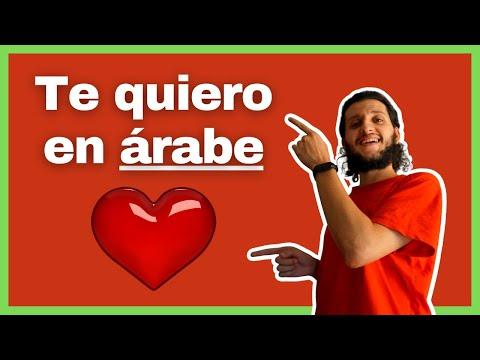 Te quiero en árabe - Aprender árabe online gratis - Árabe con Micaíl