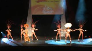 Cristina Ramon's Samba Belly Student Team Salsa Congress 2011