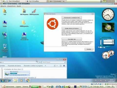 Instalar Ubuntu 10.04 - 12.04 con Wubi en Windows redimensionar partición con LVPM.deb