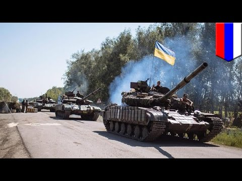 Russia masses forces near border as Ukraine advances on Donetsk