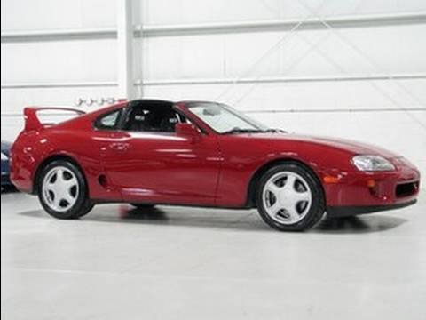 1994 Toyota Supra Turbo--Chicago Cars Direct HD