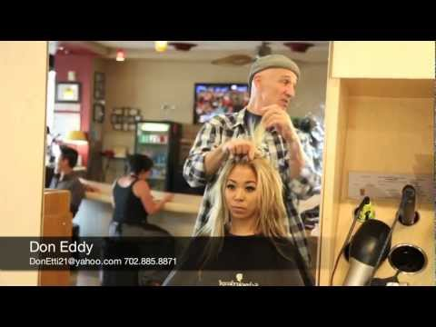 Best Hair Stylist Las Vegas; Don Eddy