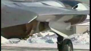 Sukhoi PAK FA production model - Russian fifth generation stealth jet fighter