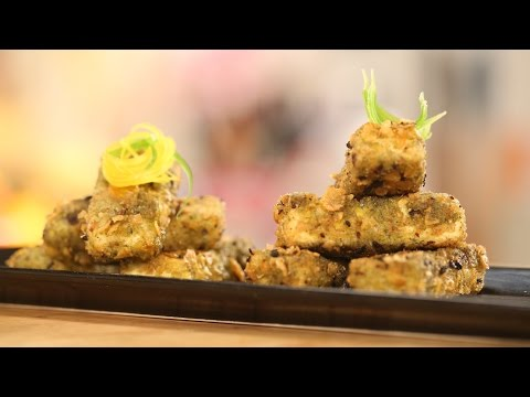 Curry Leaf Crusted Paneer Fingers | Sanjeev Kapoor Khazana
