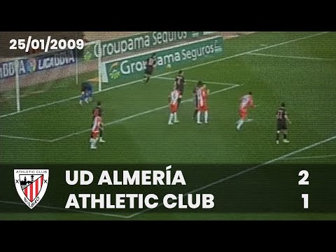Liga 08-09 - J.20 - UD Almera 2 - Athletic Club 1