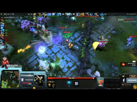 Na'Vi vs Cloud 9 Game 1 Part 3   Dota 2 Champions League @TobiWanDOTA
