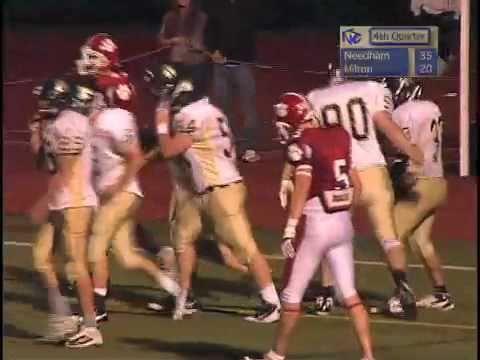 Needham vs. Milton Football 9-11-10