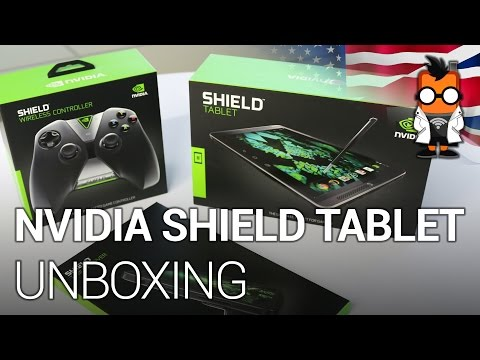 Nvidia Shield Tablet with Shield Controller Unboxing & Extensive Hands-on [ENG]