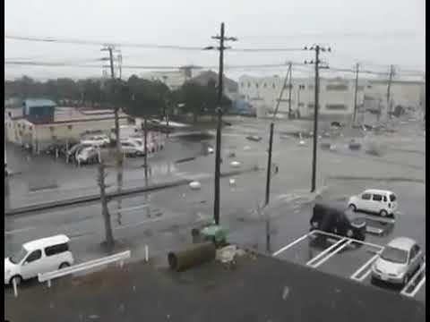 Наводнение в Японии 3 ноября 2012 года