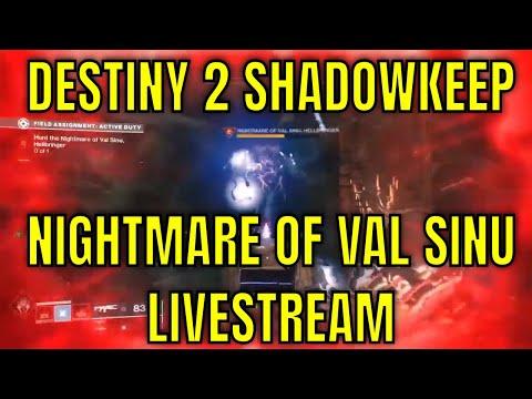 Destiny 2 Shadowkeep #5 - Hunt the Nightmare of Val Sinu, Hellbringer