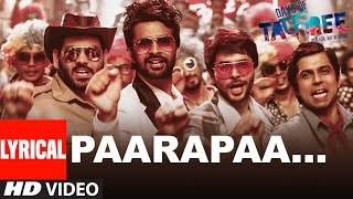 PAARAPAA Lyrical Video Song | DAYS OF TAFREE - IN CLASS OUT OF CLASS | BOBBY-IMRAN | T-Series