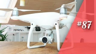 Dji Phantom 4 , Endlich Da !!! (Teil 1/4)  // Deutsch // In 4K // #87