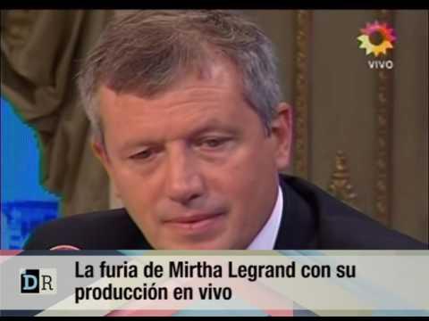 La furia de Mirtha Legrand con su producción