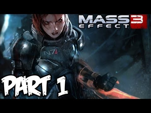 Mass Effect 3 - Walkthrough Part 1 - So Amazing! (Xbox 360/PS3/PC Gameplay & Commentary)