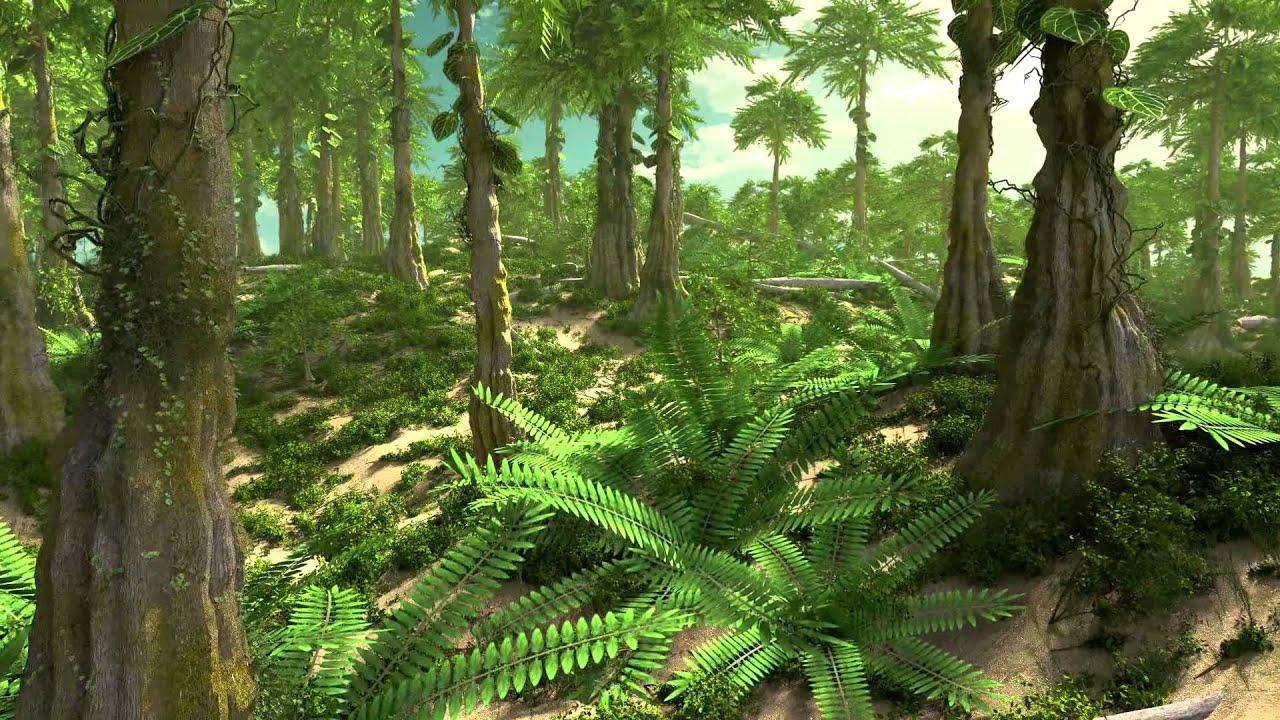 Jurassic rainforest